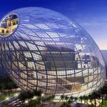อาคารสำนักงานรูปไข่ในมุมไบผสมผสานรูปทรงธรรมชาติที่มีเทคโนโลยีที่เป็นนวัตกรรม