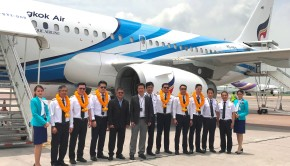 Bangkok Airways welcomes its latest Airbus 319