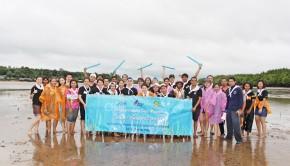 บางกอกแอร์เวย์ส จัดกิจกรรมฟื้นฟูหญ้าทะเล ภายใต้โครงการ PG Community Care Project ที่ จังหวัดกระบี่